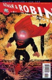 All Star Batman & Robin #4 Frank Miller Superman Variant 1:10 DC Comics